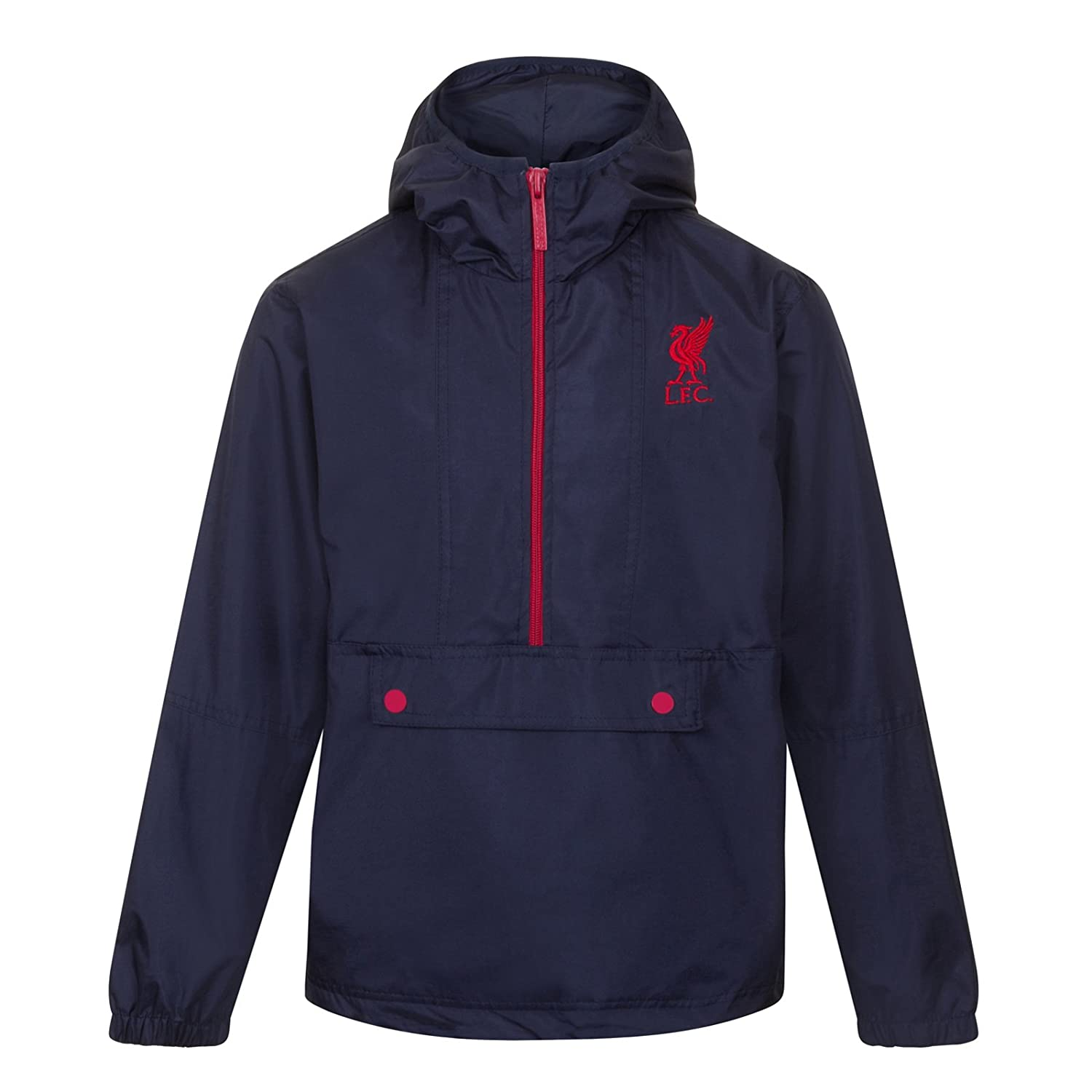 Liverpool Football Club Official Soccer Gift Boys Shower Jacket Windbreaker