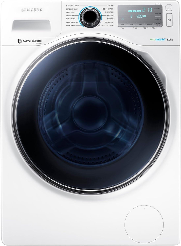 Samsung Ww80h7410ew ecobubble 8kg 1400rpm Independiente Lavadora ...