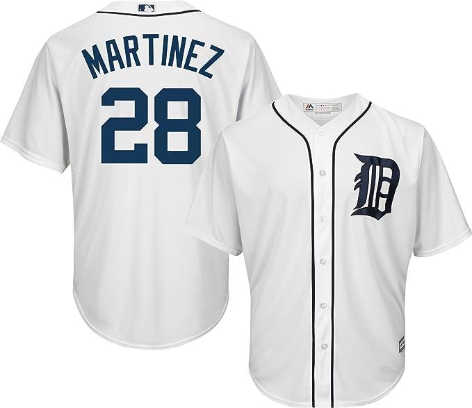 buy popular b35b8 ce4f3 Amazon.com: Victor Martinez Detroit Tigers White Youth Cool ...