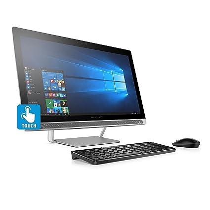 "Premium HP Pavilion FHD IPS 24"" Touchscreen All-in-One Desktop, Intel"