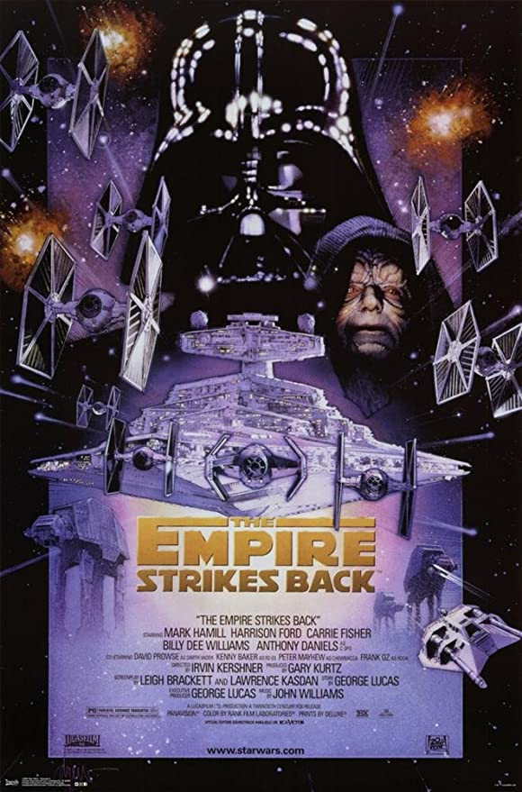 Star Wars Episode V Empire Strikes Back Ep 5 Movie 24x36 Poster Print 1980