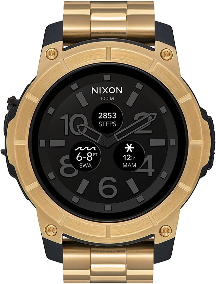 Nixon Mission A1216501 - Reloj inteligente en acero con pantalla ...