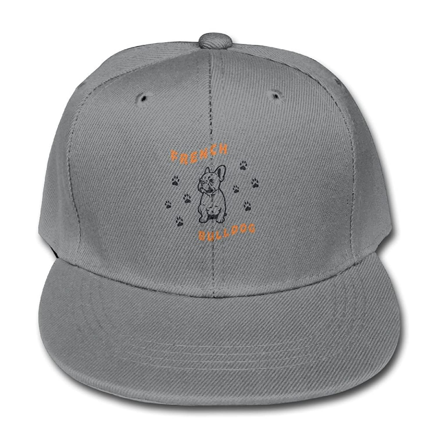 572ce317f60 Nklnaln French Bulldog Adjustable Truck Cap For Boys and Girls ...