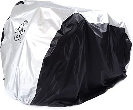 Bike Bicycle Rain Cover Garage Indoor Dust Scooter Protector Cycling Waterproof