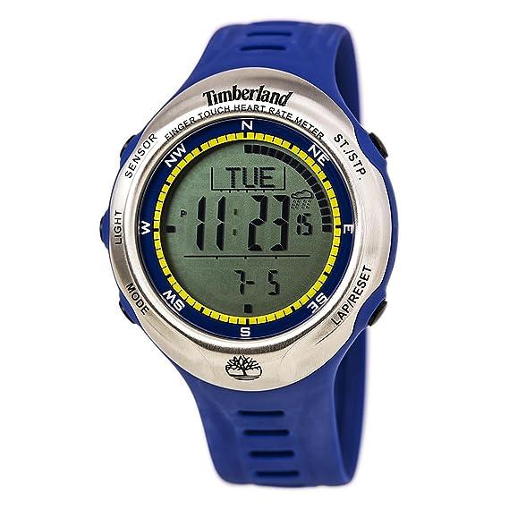 Timberland 13386JPBUS_01 - Reloj de Pulsera Unisex, Plástico, Color Azul: Timberland: Amazon.es: Relojes