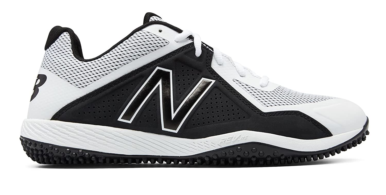 (ニューバランス) New Balance 靴シューズ メンズ野球 Turf 4040v4 White with Black ホワイト ブラック US 5.5 (23.5cm) B0758D5V5S