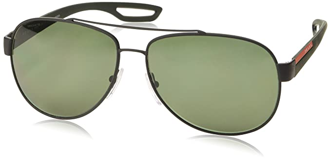 Prada Linea Rossa 0Ps 55Qs, Gafas de Sol para Hombre, Black ...