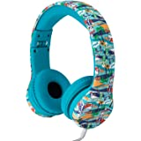 Snug Play+ Kids Headphones Volume Limiting and Audio Sharing Port (Beach)