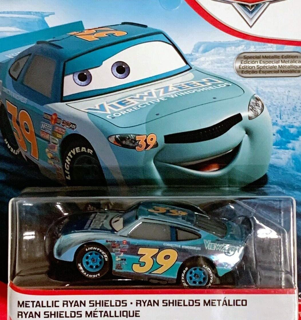 2019 Disney Pixar Cars New Card Scavenger Hunt Metallic Ryan Shields