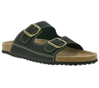 Pantoletten Schuhe Hausschuhe Pantoffeln Slipper SUPERSOFT Bio c3RqA54LjS