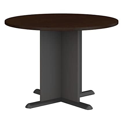 Amazoncom Bush Business Furniture Series A C Inch Round - Round wood conference table