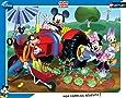 Nathan - 86101 - Puzzle Enfant avec Cadre - Mickey et Ses Amis au Jardin - 35 Pièces