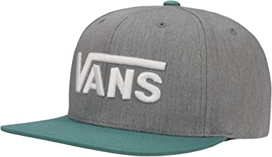 Vans - Drop - Gorra - Heather Grey Larkspur: Amazon.es: Zapatos y ...
