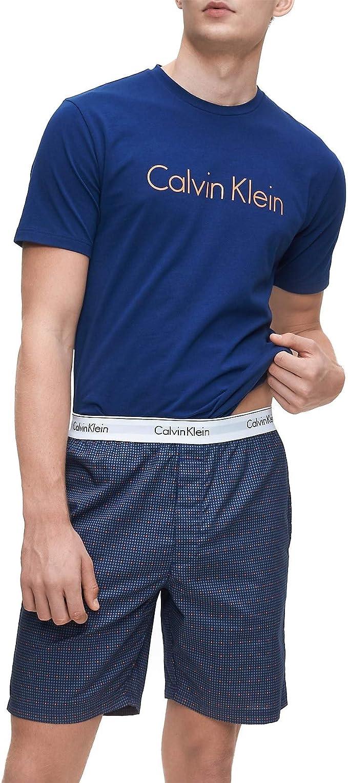 Calvin Klein - Conjunto de pijama y pantalones cortos de algodón ...