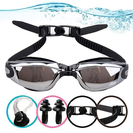 2 opinioni per YINGNEW Nuoto Occhialini da nuoto Anti Fog,Anti UV Occhialini,Materiali morbidi