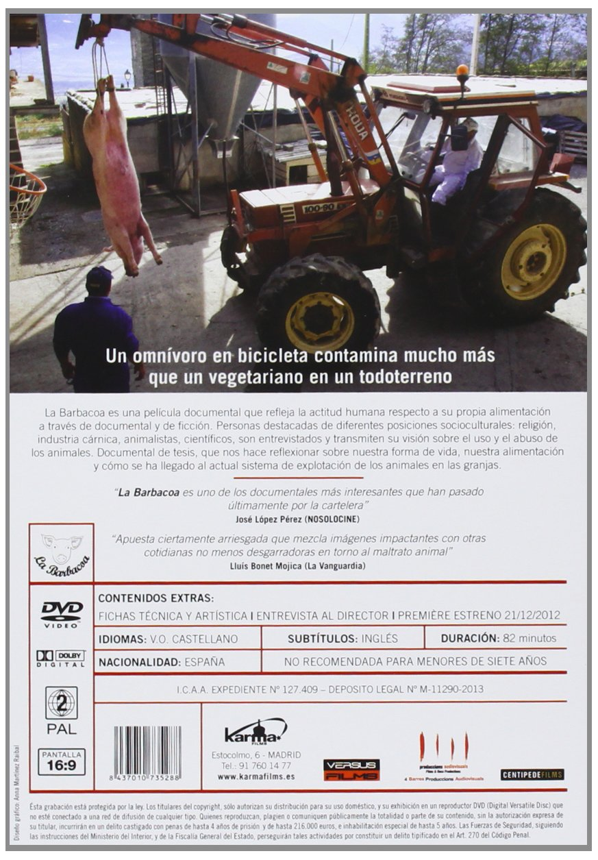 Amazon.com: The Barbecue (La barbacoa)  (THE BBQ)  [ NON-USA FORMAT, PAL, Reg.0 Import - Spain ]: Leonardo Anselmi, Jordi Arús, Jordi Casamitjana, ...