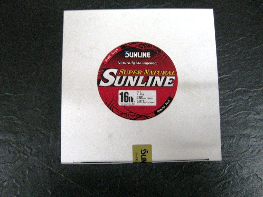 一番の Sunline 63758932スーパーナチュラルクリア16 lb釣りライン yd、自然クリア、3300 Sunline yd B004ZMKY0U, シニアレディースパンツのタイセイ:0c1f0bd1 --- a0267596.xsph.ru