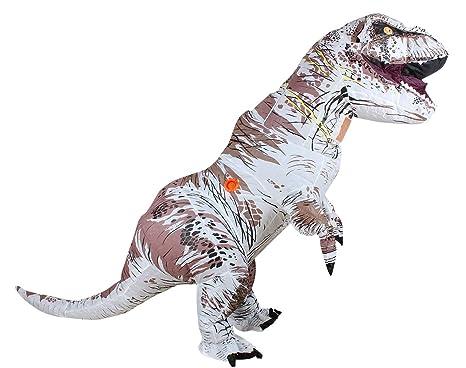 Zi Xi & Zi Qi T-Rex Traje de Fiesta de la Mascota del Dinosaurio ...