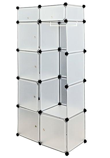 ts ideen 5119 mobile da bagno armadio da cameretta 7 scomparti dotati di sportelli