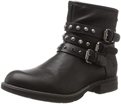 Femme Bottes Motardes Tailor 3795613 Sacs Chaussures Tom Et nzUFP
