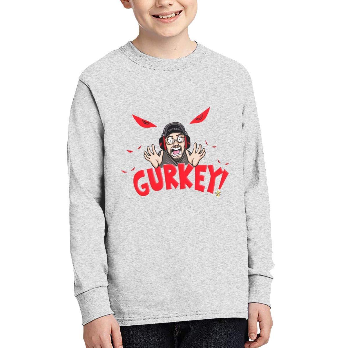 LuanaCorreiaS Gurkey Turkey Boys Leisuer Shirts Black