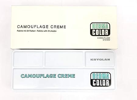 Kryolan DermaColor 24 Color Palette Makeup 71008 – Show