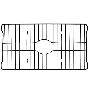 Better Houseware COMIN18JU083677 Better Houseware Extra Large Sink Protector Grid, Black, 2.1,