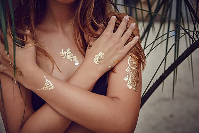 Miss Sophie s exclusiva Metallic Tatuajes Indian Summer: 21 ...