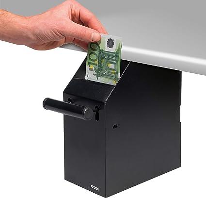 Safescan 4100 Negro - Caja de seguridad POS negra: Amazon.es: Oficina y papelería