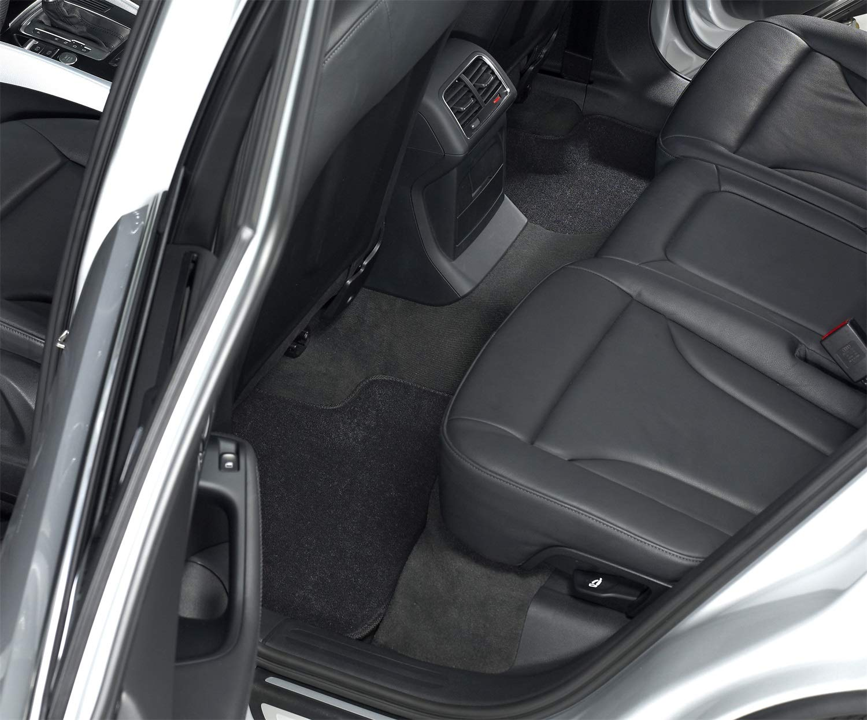 Classic Carpet Black 3D MAXpider Second Row Custom Fit Floor Mat for Select Toyota Camry//Lexus ES350 Models