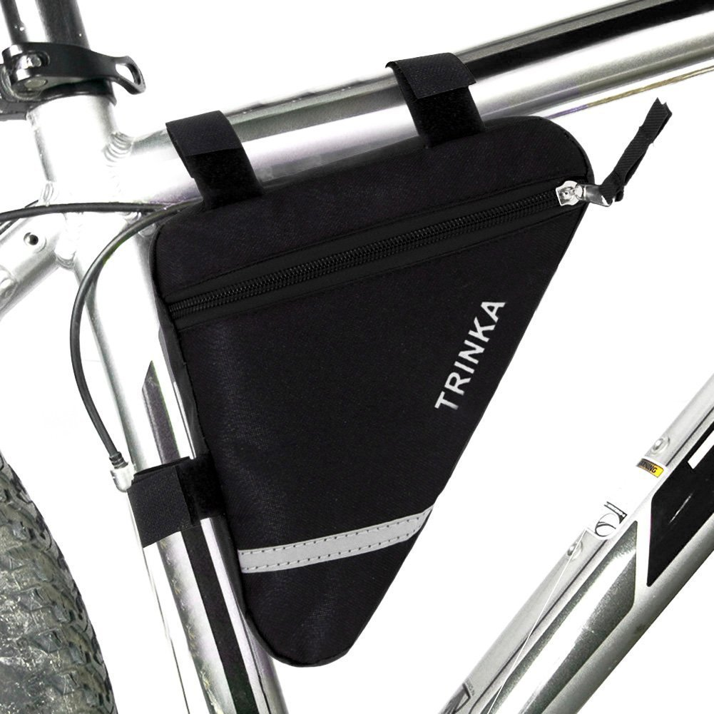 Road Mountain MTB Bike Cycling Front Top Tube Triangle Frame Bag Saddle Pouch