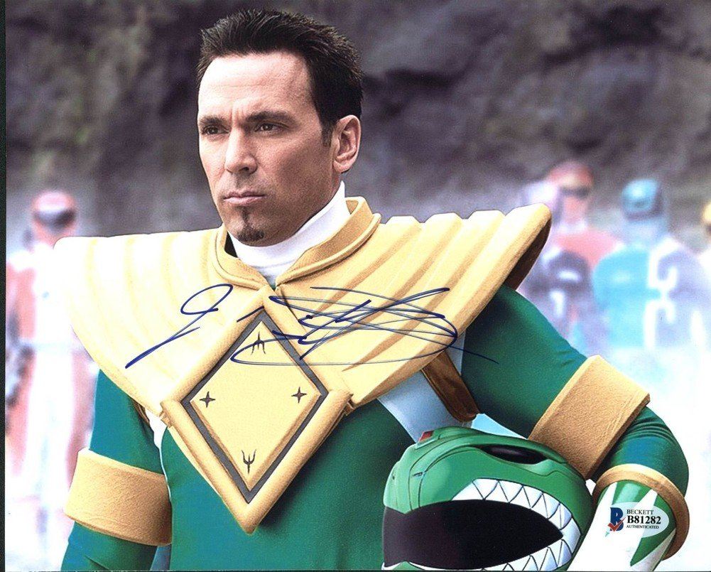 Jason David Frank Power Rangers Autographed Signed 8x10 Photo - Beckett Authentic