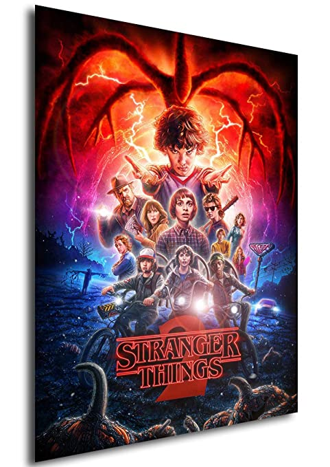 Instabuy Poster Stranger Things - Temporada 2 (A3 42x30 ...