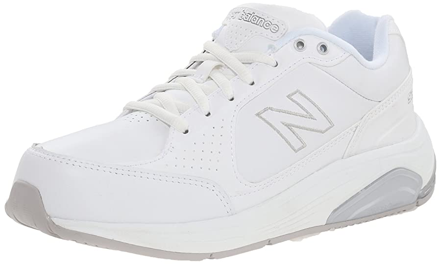 New Balance Women's WW928 Health Walking Laced Shoe,White,6 2A US