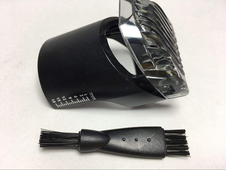 Cortador de Pelo Peine Pequeño HAIR CLIPPER COMB Shaver Para PHILIPS QT4050-7100 QT4070 QT4075 QT4090 QT4090/47 QT4070/41-7300 QT4070/32 QT4050/15 QT4075/32 CP 9258 1-18mm Barba Recortadora Peines generic