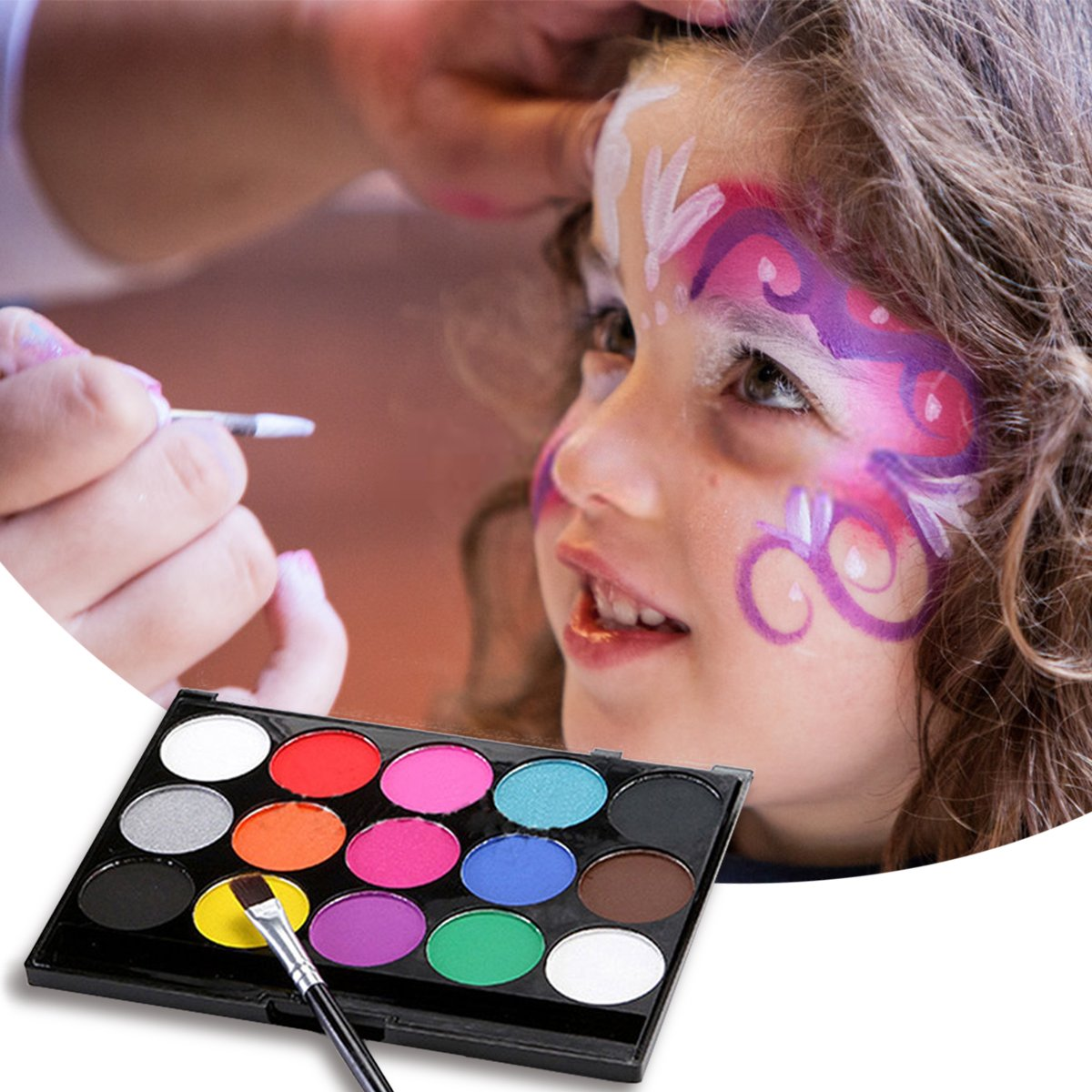 Maquillaje profesional para niños