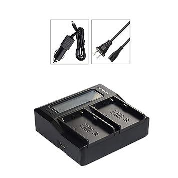 Amazon.com: Dot.Foto Sony NP-FW50 - Cargador de batería dual ...