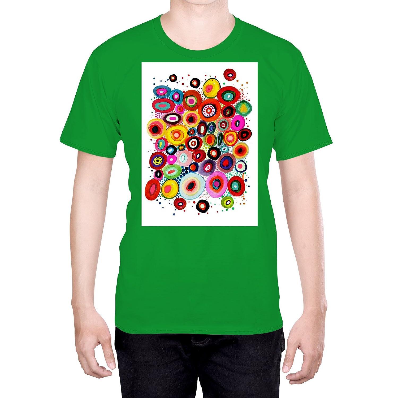 Official Sylvie Demers Unwind Art L - Large Black T-Shirt for Men