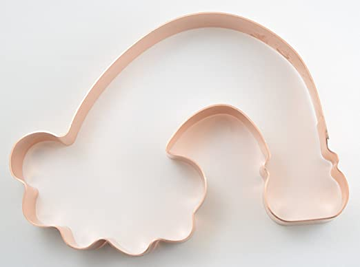 The Fussy Pup Somewhere Over the Rainbow Pot O' Gold St. Patricks Day Cookie Cutter