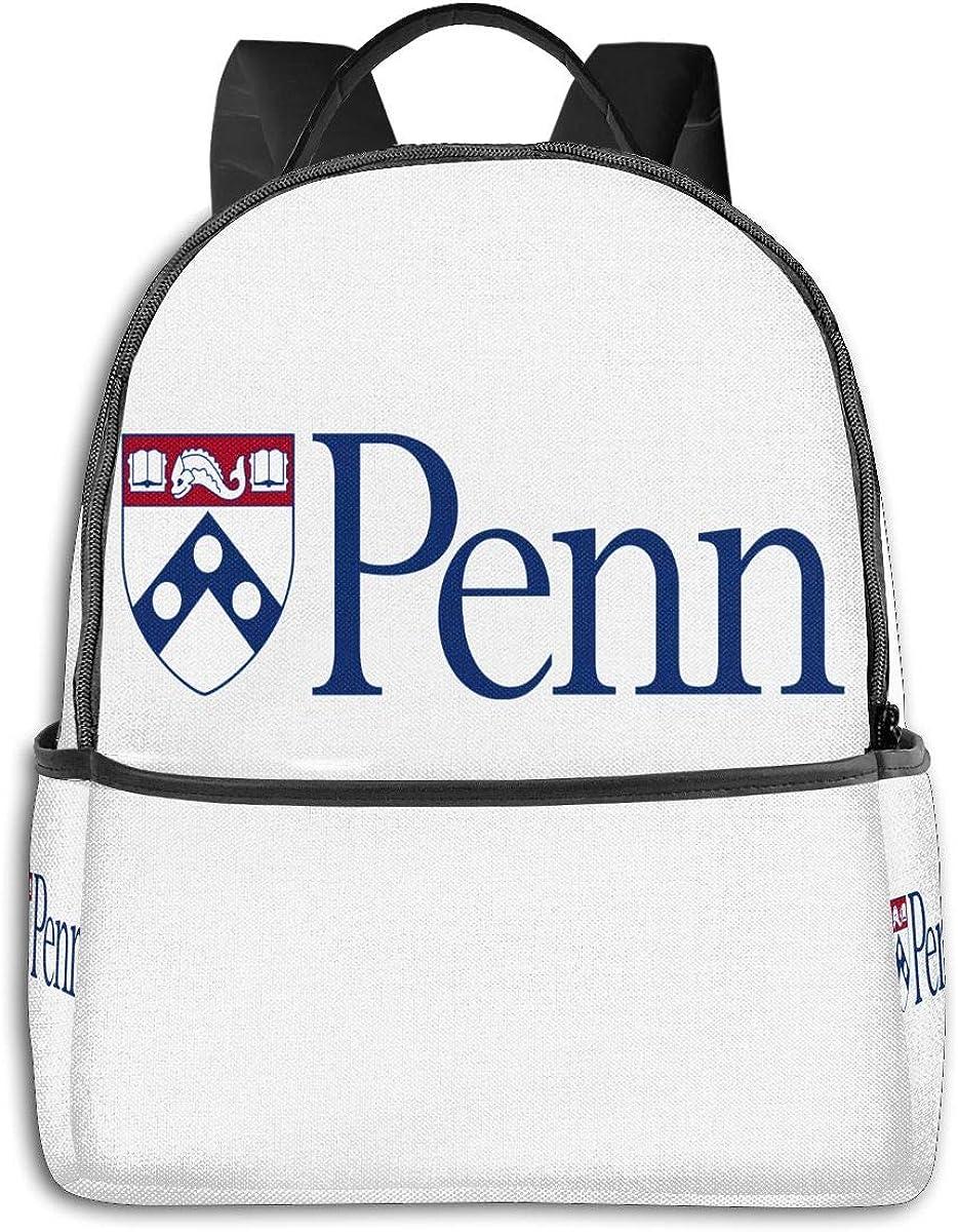 N/C Backpack Travel UPenn School Bags Shoulder Laptop Backpack Men Ladies Girls Schoolbags