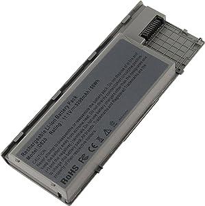 AC Doctor INC Laptop Battery for Dell Latitude D620 Latitude D630 Latitude D630c Latitude D631 Precision M2300, 5200mAh/11.1V/6-Cells