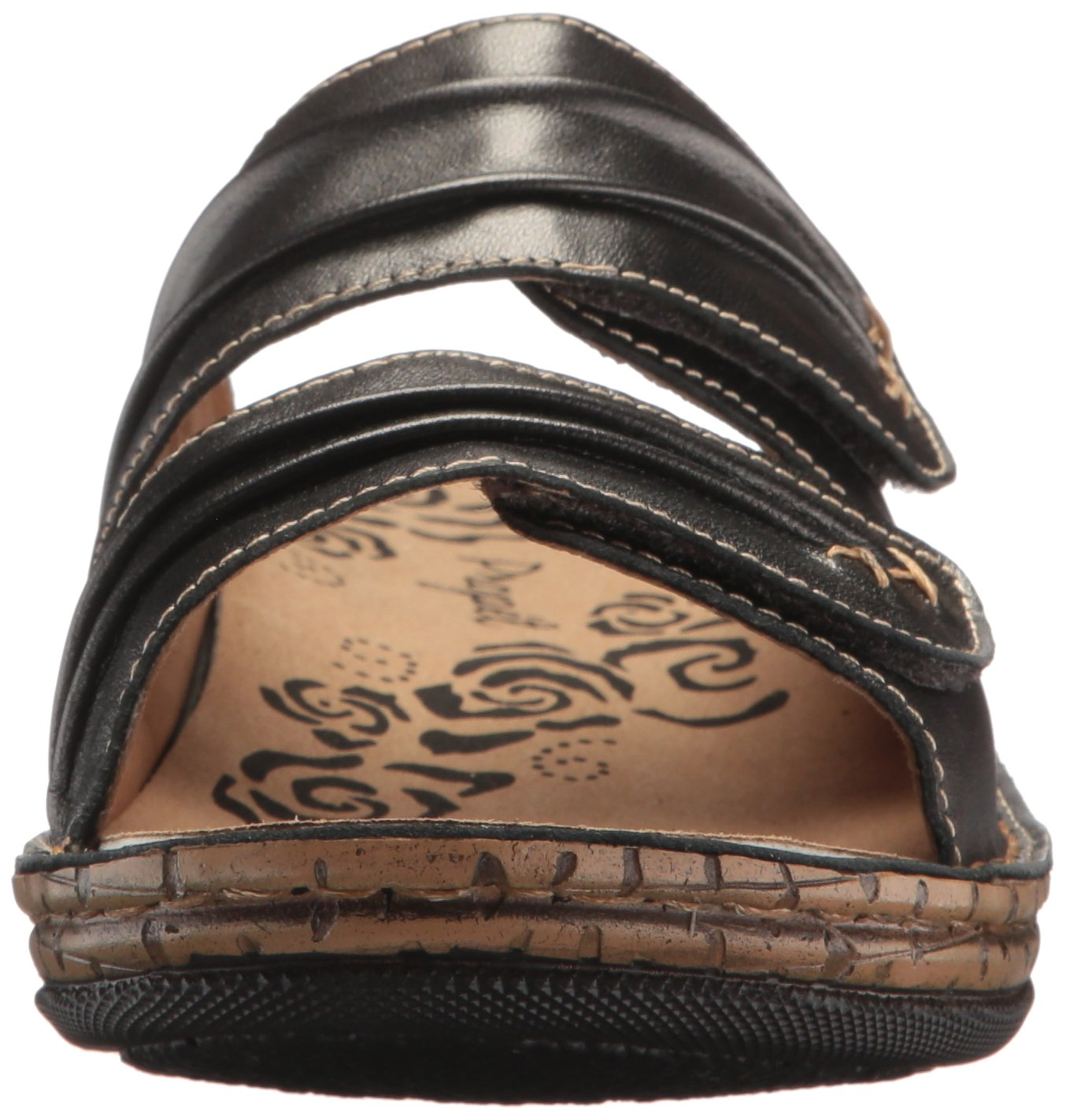 Propet Women's June Slide US|Silver Sandal B071JC3L22 7.5 2E US|Silver Slide 5f9582