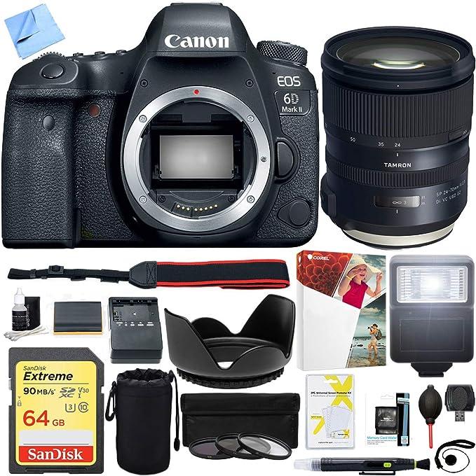 Canon Eos 6d Mark Ii 26 2 Mp Full Frame Digital Slr Kamera