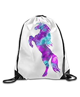 2018 pants White Kitten Lightweight Drawstring Bag Sport Gym Backpack Gym Bag For Men And Women