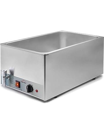 Lacor - 69036 - Baño María eléctrico Gn 1/1 230 v- Gris