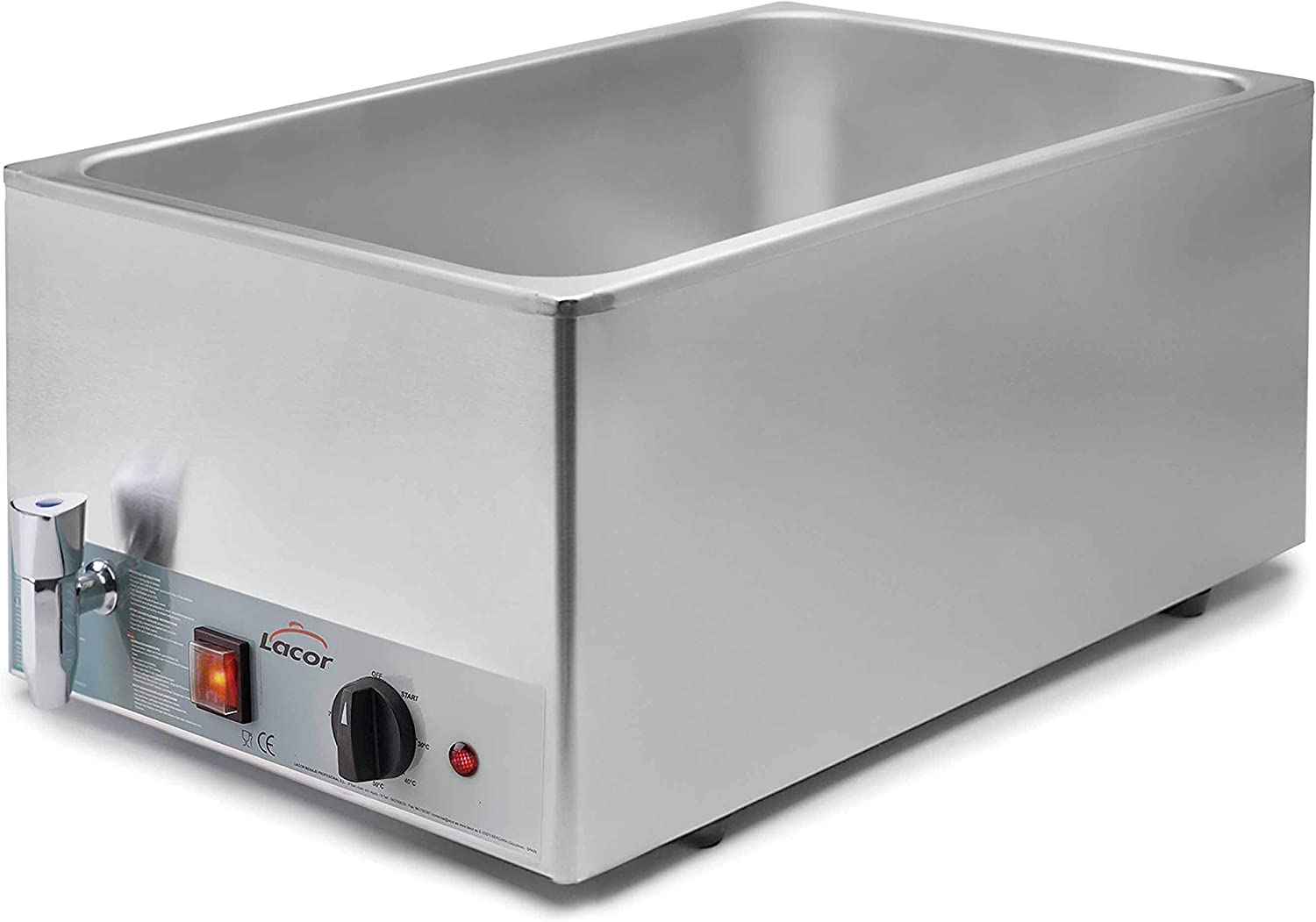 LACOR GN 1/1 230 V Stainless Steel Electric Bain Marie Set
