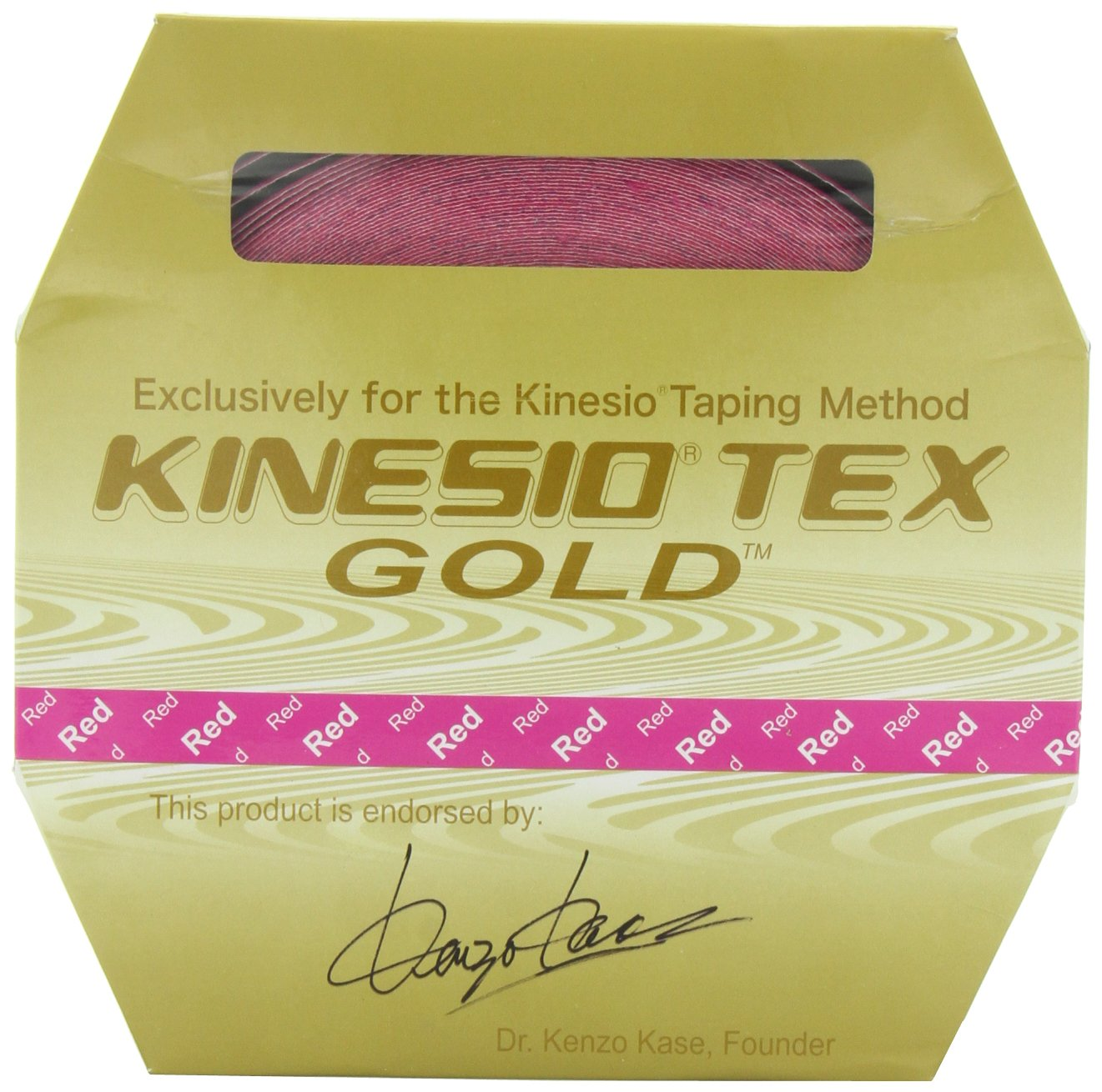 Kinesio Tex Gold FP 2'' x 103.3' Red (Pink) Roll