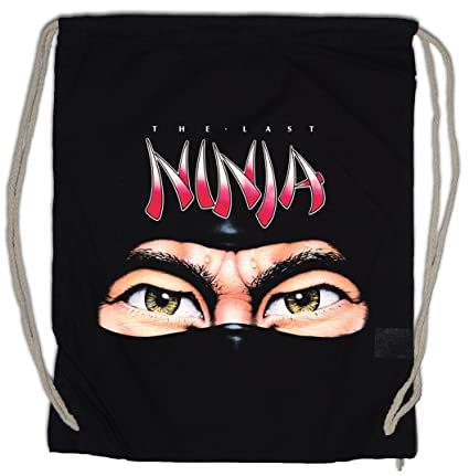 Amazon.com | THE LAST NINJA Drawstring Bag Gym Sack ...