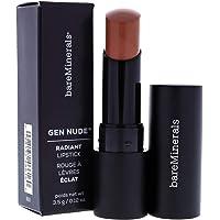 BareMinerals Gen Nude Radiant Lipstick - HoneyBun for Women - 0.12 oz