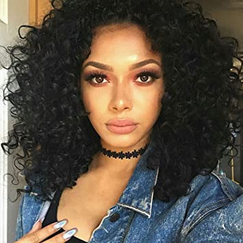 Degocixe Short Curly Wigs for Black Women